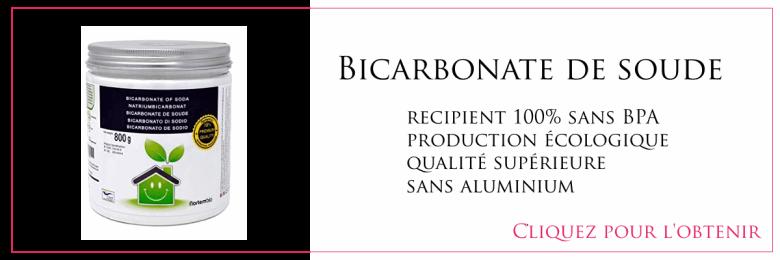 Bicarbonate de soude bio ecologique happy positive