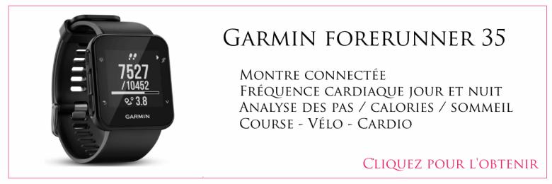 garmin forunner 35 montre connectée happy positive