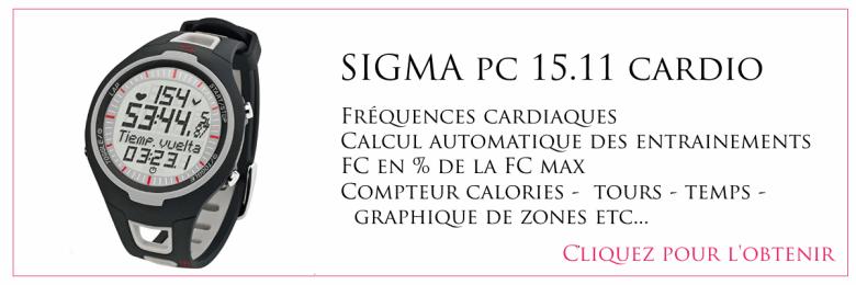 montre sigma pc 15 montre cardio happy positive